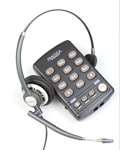 缤特力T110拨号盘+缤特力HW291N宽频耳麦套装