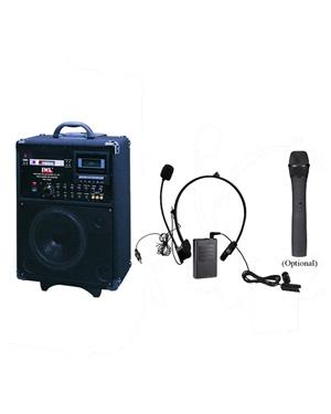 易铭达jwl pra7000便携式流动无线扩音器