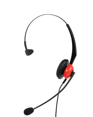 瑞美华R511QD-NC话务耳机(声音可调,静音效果好)