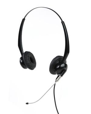 瑞美华R5102QD话务耳机-美观大方,重量极轻